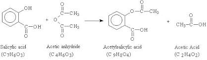 chemistry 104 synthesis of aspirin