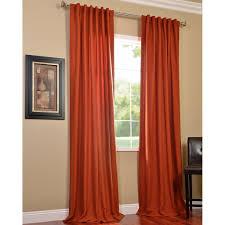 curtains red orange curtains designs decorative burnt orange