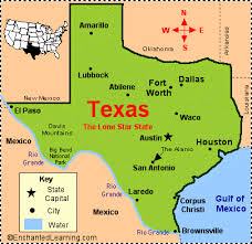 map of texa facts map and state symbols enchantedlearning