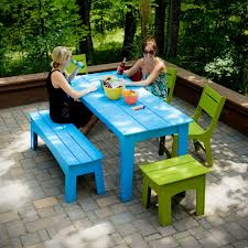 Poly Picnic Tables by Lovable Picnic Table Patio Picnic Tables Poly Furniture