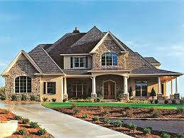 brick house plans stone and brick house plans new house plan dignified brick home