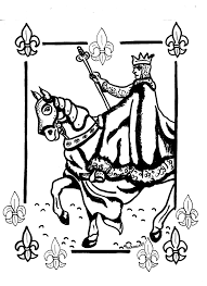 the story of st louis king france at st coloring pages throughout