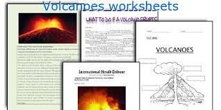 english teaching worksheets volcanoes