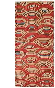 rug runners contemporary modern geometric runner 34368