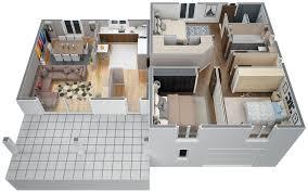 modele de cuisine provencale modèle villa contemporaine 100m2 demi étage agate azur logement