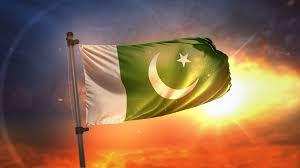 Pakistane Flag Pakistan Flag Backlit At Beautiful Sunrise Loop Slow Motion 4k