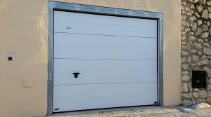 puertas de cocheras automaticas puerta garaje autom磧tica seccional blanca doorcasa