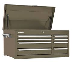 kennedy 8 drawer roller cabinet amazon com kennedy manufacturing 10488b 39 8 drawer industrial