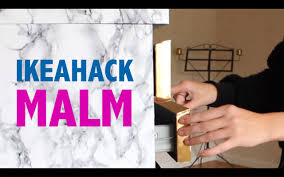 ikea hack malm youtube