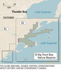 Lake Superior Map Key Wilderness Area On Lake Superior To Be Preserved The Globe