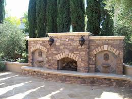 Outdoor Chimney Fireplace by Birmingham Outdoor Fireplace