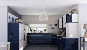 cuisine bleu petrole cuisine en couleur 12 modèles qui en jettent côté maison