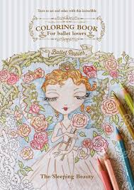 sleeping beauty ballet colouring book ballet papier dance