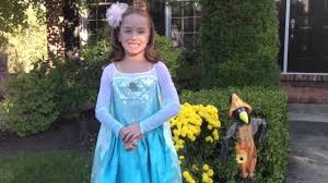 disney frozen elsa costume youtube