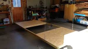 hobie hoist test of the lifting platform 1 youtube