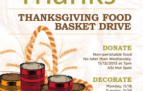 thanksgiving baskets thanksgiving food baskets asi associated students inc