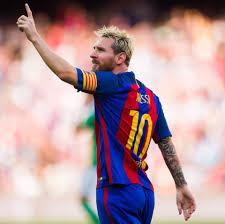 barcelona star neymar follows in lionel messi u0027s footsteps by