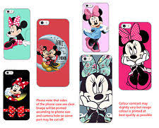 minnie mouse case character phone covers ebay