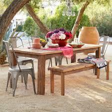 reclaimed wood indoor outdoor table robert redford u0027s sundance