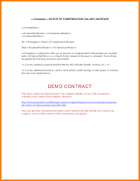 salary increment letter template examples