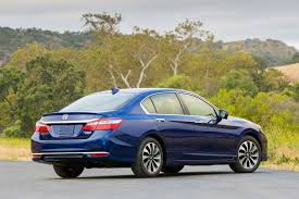 2017 honda accord hybrid gets more power improved efficiency