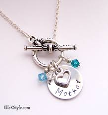 s day necklace s day personalized sted necklace k