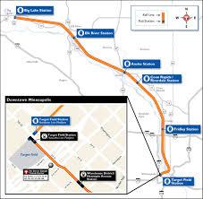 Light Rail Map Minneapolis Minneapolis Northstar Regional Rail Links Northwest Communities