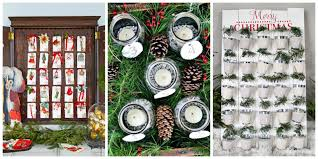 Homemade Christmas Ideas by 32 Diy Advent Calendar Ideas Homemade Christmas Advent Calendars