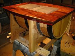 coffee table wooden barrel coffee table in breathtaking wine