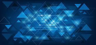 Famosos Línea Azul triángulo banner background, Fondo De Geometría, Multi  @KX48