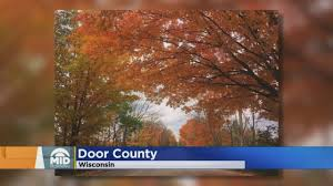 visit door county cape cod of the midwest this fall wcco cbs