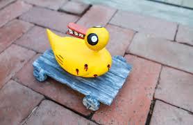 nightmare before christmas duck toy craft tutorial