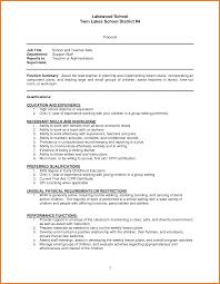 teacher resume items resume template teacher aide teachers resume format preschool