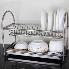 Dish Drainer Dish Drying Rack Sits In Cupboard Over Sink Dish Drying Rack
