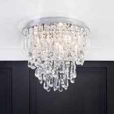 marquis by waterford bresna led 3 light bathroom flush ceiling