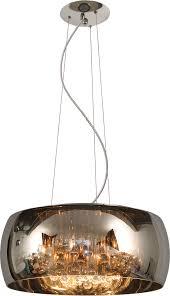 el light pearl pendel røgfarvet glas ø50 cm 4451002 interior