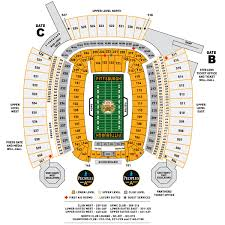 Citi Field Seating Map Heinz Field Seating Chart My Steelers Pinterest Seating