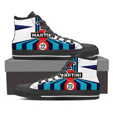 martini livery motorcycle men u0027s martini racing inspired high top shoes black u2013 the window shop