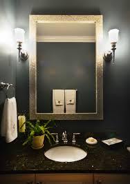 b chic interiors art deco powder room