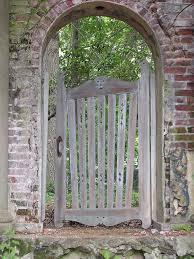 garden design details rustic wood gates miss rumphius u0027 rules