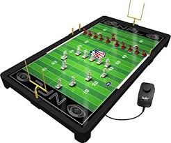 electronic table football game amazon com nfl electric football game toys games