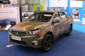 ssangyong korando sports ssangyong korando sport 19 195 at the cv show 2016 commercial