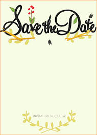 Save The Date Photo Templates Free save the date templates free pertamini co