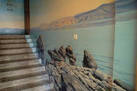 Staircase Wall Decorating Ideas Amazing Painting Ideas For Staircase Wall Decoration With Gorgeous