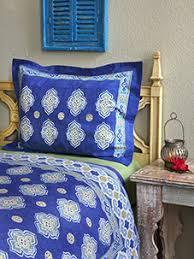 Moroccan Coverlet Blue Bedspread Moroccan Bedspread Vintage Bedspread King Cotton