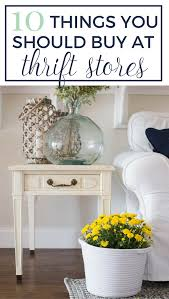 10 things to buy at thrift stores that will make your home look