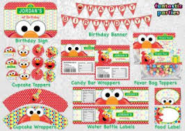 elmo birthday party diy elmo party ideas with free printables from rays of bliss