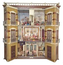Dollhouse Decorating by Spanish Mansion Dollhouse Dollhouse Decorating