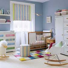 Nursery Decoration Sets Nursery Bedroom Sets Chair Corner Beside Striped Curtain Lighting