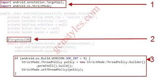 android os networkonmainthreadexception os networkonmainthreadexception
